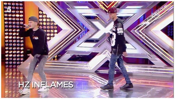 HZ Inflames Santiago y Marcos en Factor X 2018