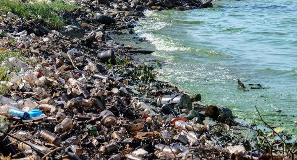 Mar de plástico y contaminación